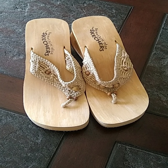 Somethin else from Skechers Wedge Sandals Size 7